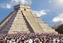 Spring Equinox at Cancun's Chichen Itza